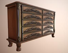 Big Classical Storage Dresser 3D model