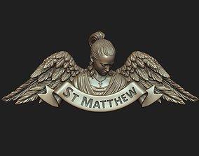 Saint Matthew the Evangelist Pendant 3D printable model