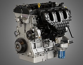 2013 Escape Engine - 4 Cylinder EcoBoost 3D model