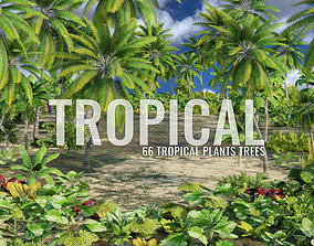 Ultimate Tropical Collection 3D model realtime