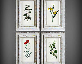 picture decoration Picture Frames 3D model VR / AR ready