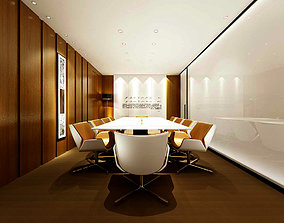 Conference room office reception hall 35 lobby 3D
