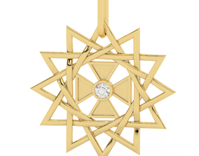 3D printable model star arzgamma