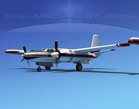 Douglas B-26 Marketeer V03 3D