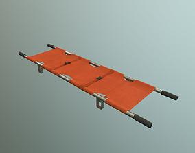 3D model VR / AR ready stretcher