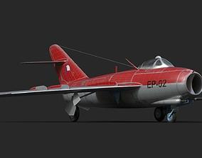 3D mig-17 Czech