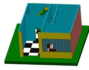 3D PRINTABLE HOUSE DESIGN