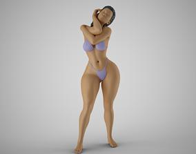 3D print model Woman Artwork Stance 2
