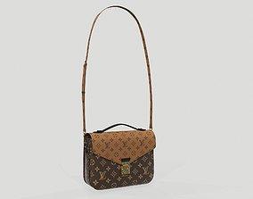 3D model Louis Vuitton Pochette Metis Bag Reverse Monogram