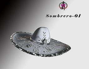 Sombrero-01 3D model