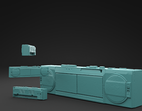 Scanned BOOMBOX 3D Print Model