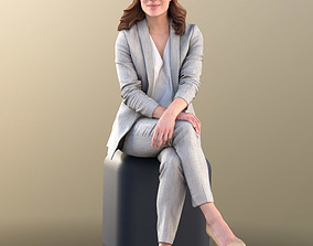 Juliette 10800 - Business Sitting Woman 3D model