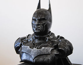 Batman Bust 3D printable model comic