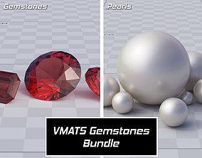 topaz 3D model VMATS - Gemstones Bundle
