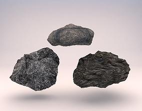 3D model Rock 3in1