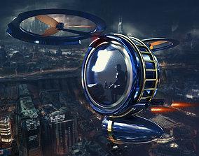 3D animated Aircraft