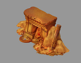 Dynasty Aladdin - Treasure 01 3D model