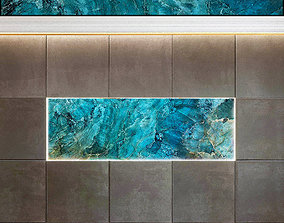 Wall Panel Set 56 3D