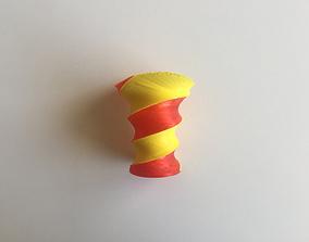 3D printable model 2 Color Spiral Vase V 9c