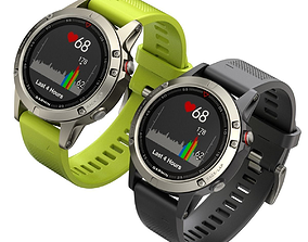 Garmin Sport Smart Watch 3D