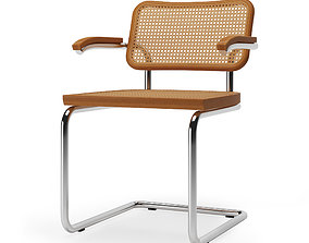Cesca chair by Marcel Breuer 3D model