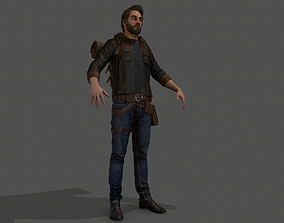 3D asset Camper Character