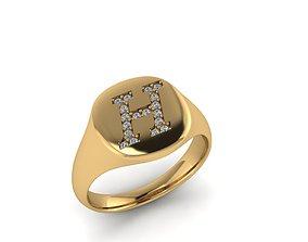 3D print model Jewelry Signature Ring matrix
