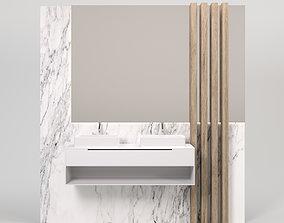 Bathroom Strips 3D model