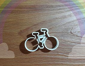 3D printable model CC146 Bike Outline