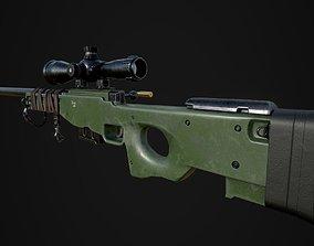 AWP Sniper L96 3D model
