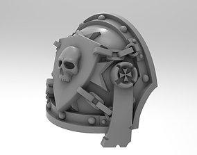 3D print model Black Tamplier Pauldron