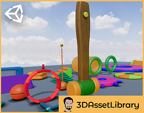 3D model Fun Obstacle Course Expansion