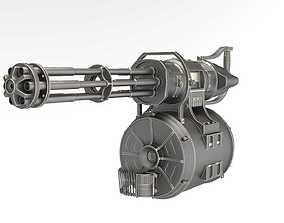 3D toy minigun
