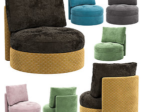 3D Wing Round Chair