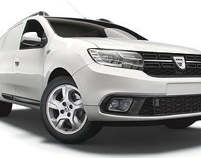 3D model Dacia Logan MCV Van 2019