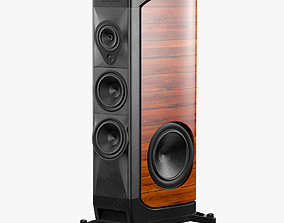 the Sonus faber Walnut 3D model