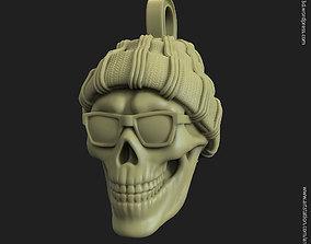 Skull Gangster vol1 Pendant 3D print model