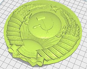 State Emblem of the Soviet Union - 3D printable model