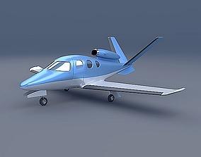 Cirrus SF50 private jet 3D model