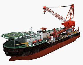 3D Crane ship 2