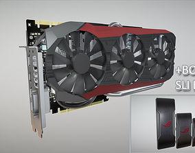 VR / AR ready ASUS STRIX GTX 980 TI Game model bonus SLI