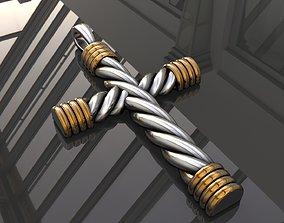 Cross rope D0-1000100 3D printable model
