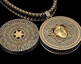 Versace Necklace print model