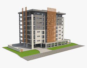3D Apartment Building 8