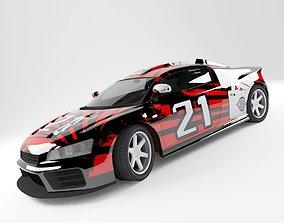 Car A8 3D model