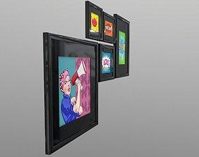3D asset Pop Art