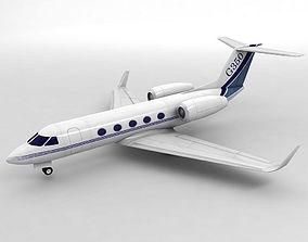 Gulfstream G350 Aircraft 3D model