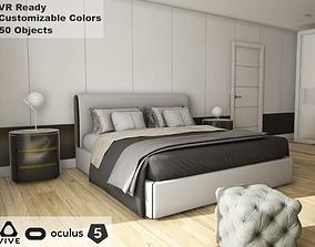 3D asset ArchViz HQ Bedroom