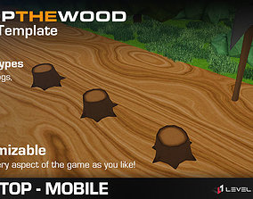 3D model Chop The Wood - Game Template