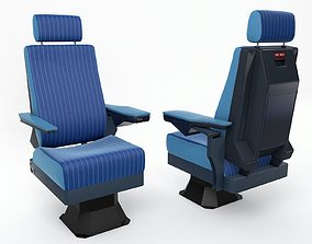 Pilot Seat 3D asset